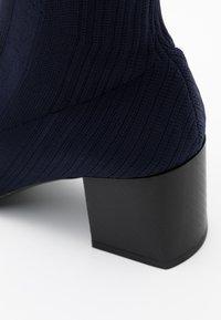 Sportmax - ANGIZIA - Ankle boots - blu marino - 4