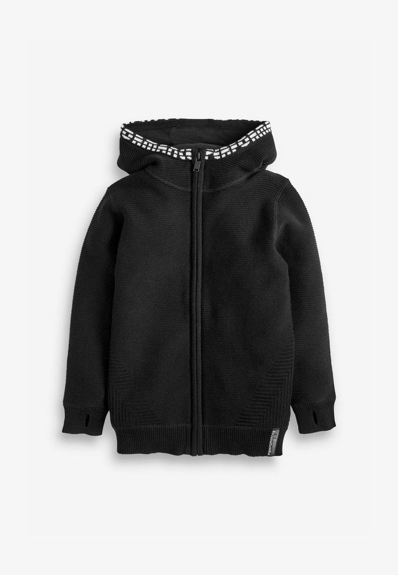Next - Zip-up hoodie - black