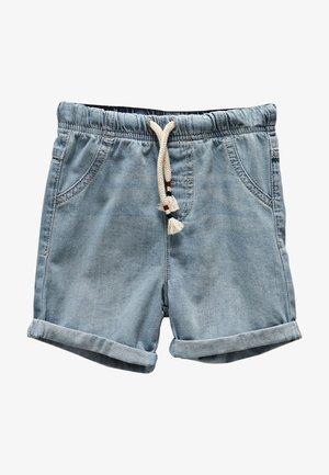 BASIC - Jeansshort - light blue