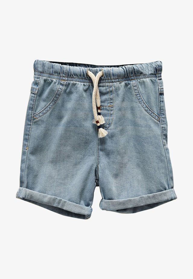 BASIC - Denim shorts - light blue