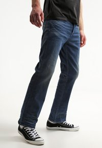 G-Star - 3301 LOOSE - Relaxed fit -farkut - firro denim - 0