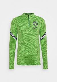 NIGERIA DRY TOP - Oblečení národního týmu - pine green/black/white