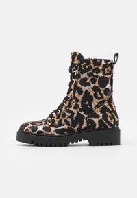 Guess - OLINIA - Lace-up ankle boots - multicolor - 1