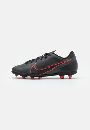 MERCURIAL JR VAPOR 13 CLUB FG/MG UNISEX - Moulded stud football boots - black/dark smoke grey