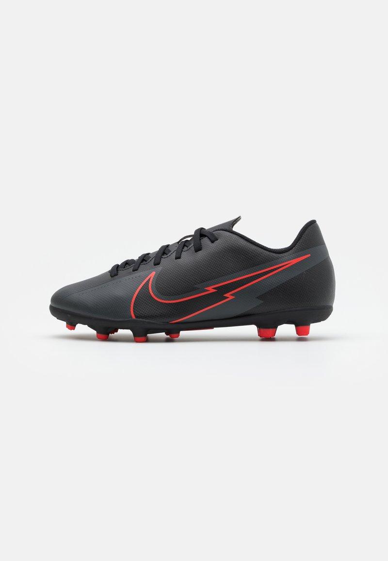 Nike Performance - MERCURIAL JR VAPOR 13 CLUB FG/MG UNISEX - Moulded stud football boots - black/dark smoke grey