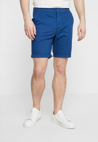 Selected Homme - SLHSTRAIGHT PARIS - Shorts - navy peony - 0
