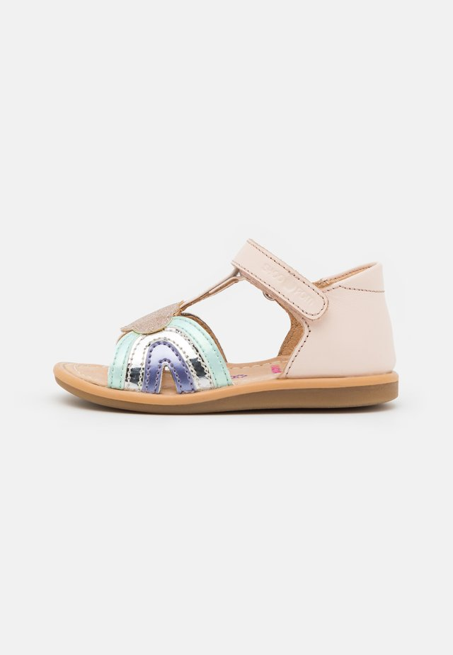 TITY RAINBOW - Sandales - pink/opal/lila