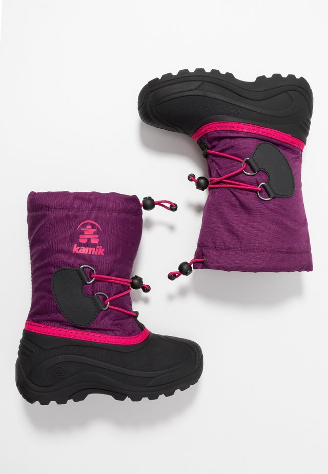 SOUTHPOLE4 - Winter boots - grape/raisin
