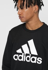 adidas Performance - BOS CREW - Sweatshirt - black/white - 4
