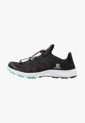 AMPHIB BOLD - Chaussures de running neutres - black/white/electric green
