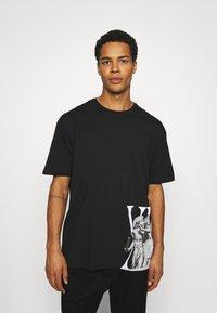 Zign - UNISEX - T-shirt imprimé - black - 0