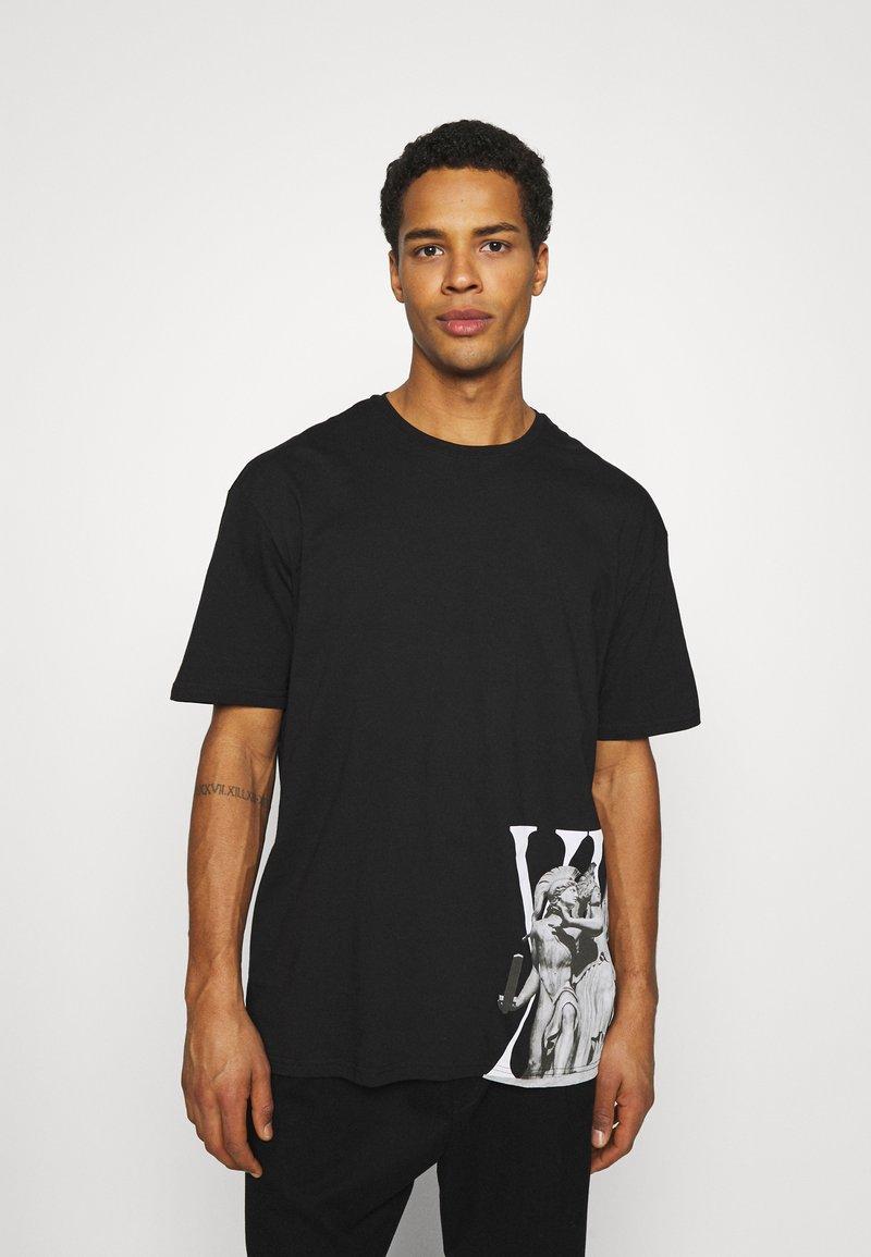 Zign - UNISEX - T-shirt imprimé - black