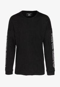 Jack & Jones - JCODOBBY TEE CREW NECK - Långärmad tröja - black - 4