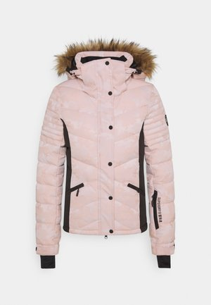 SNOW LUXE PUFFER - Ski jacket - pink