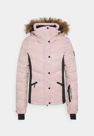 SNOW LUXE PUFFER - Chaqueta de esquí - pink