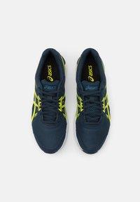 ASICS - GEL-SILEO 2 - Chaussures de running neutres - french blue/sour yuzu - 3