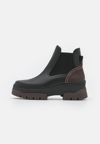 CASSIDIE - Platform ankle boots - black