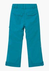 TrollKids - KIDS HALLINGDAL - Snow pants - light petrol/dark mint - 1