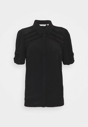 THAMA - Button-down blouse - noir