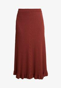 SKIRT - A-line skirt - sierra