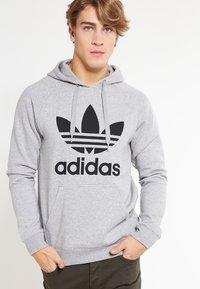 adidas Originals - TREFOIL  - Hoodie - grey - 0