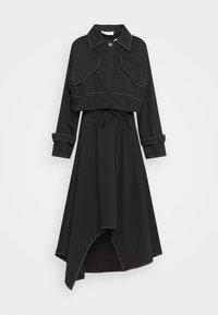 Mykke Hofmann - KRISTI 2-in-1 - Shirt dress - black - 0