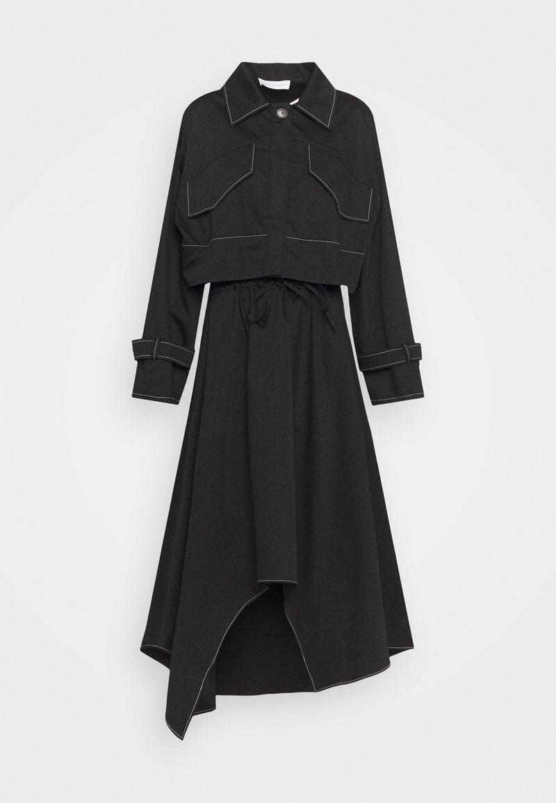 Mykke Hofmann - KRISTI 2-in-1 - Shirt dress - black