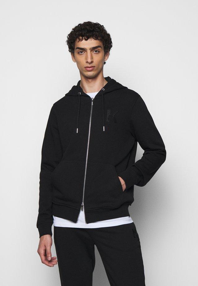 HOODY JACKET - Zip-up hoodie - black