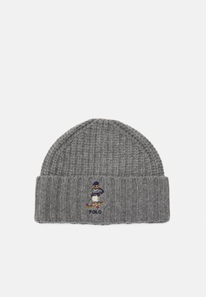 CHUNKY HAT COLD WEATHER UNISEX - Beanie - classic grey