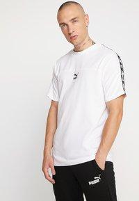 Puma - TEE - Print T-shirt - white - 0