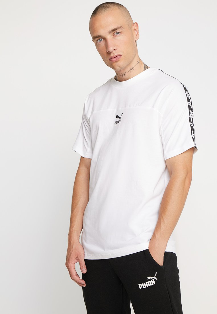 Puma - TEE - Print T-shirt - white