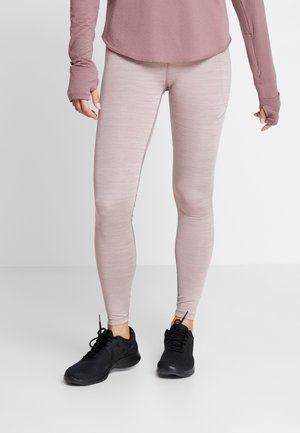FAST - Leggings - dark pony/smokey mauve