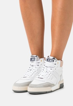 THE 88 - High-top trainers - white