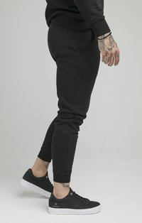 SIKSILK - MUSCLE - Tracksuit bottoms - black - 4