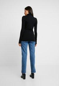 AMOV - COCO ROLL NECK - Bluzka z długim rękawem - black - 2