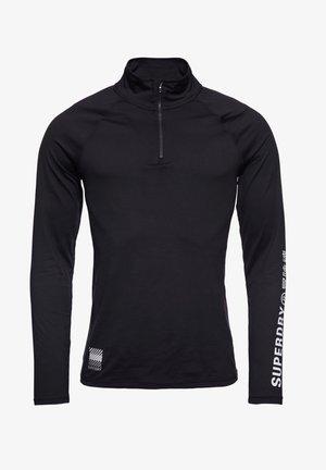 CARBON BASE - Långärmad tröja - black