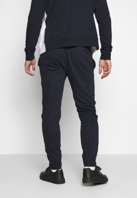 Champion - HOODED FULL ZIP SUIT - Chándal - dark blue - 4