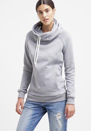 RAGLAN HIGH NECK  - Hoodie - grey