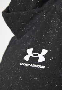 Under Armour - RIVAL WRAP NECK - Sweatshirt - black - 5