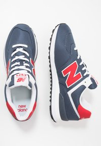 New Balance - Sneakersy niskie - grey/red - 1