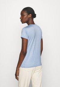 Lindex - TOM - Basic T-shirt - light blue - 2