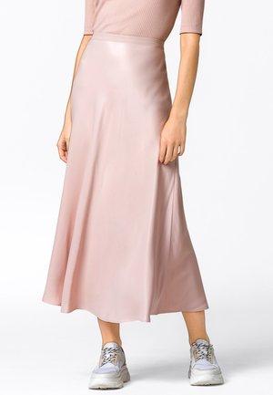 ROCK SWIRLING - A-line skirt - zartrosa