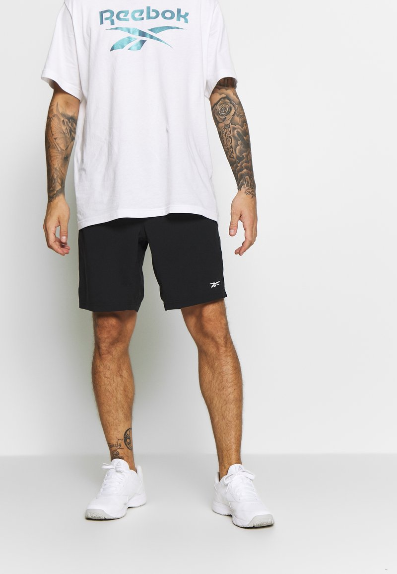 Reebok - SHORT - Sports shorts - black