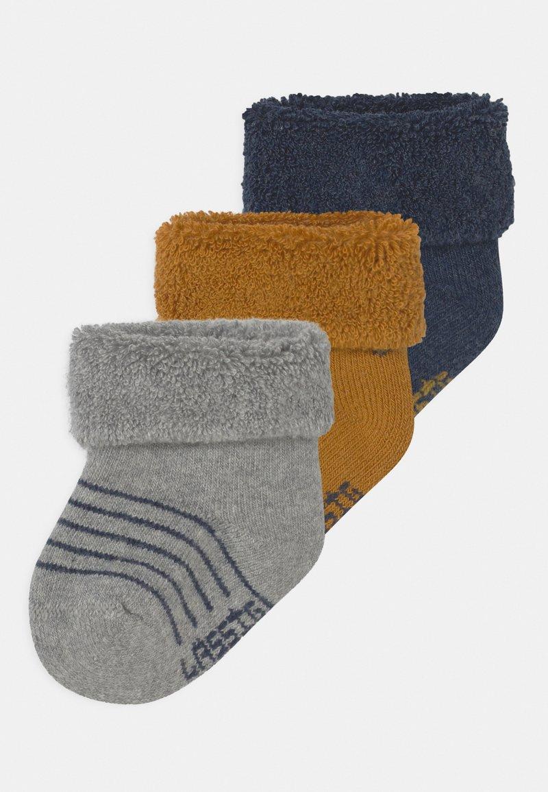 Lässig - NEWBORN 3 PACK - Ponožky - blue