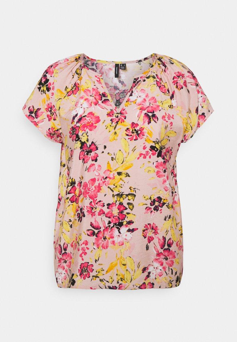 Vero Moda - VMGIGI  - T-shirt med print - sepia rose