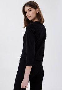 LIU JO - Summer jacket - black with appliqués - 1