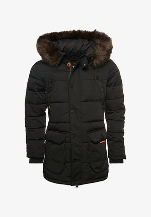 CHINOOK - Wintermantel - black