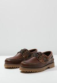Dockers by Gerli - Stringate sportive - brown - 2