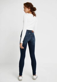 ONLY - ONLSHAPE - Skinny-Farkut - dark blue denim - 2