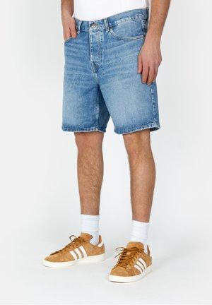 NEWEL - Denim shorts - blue